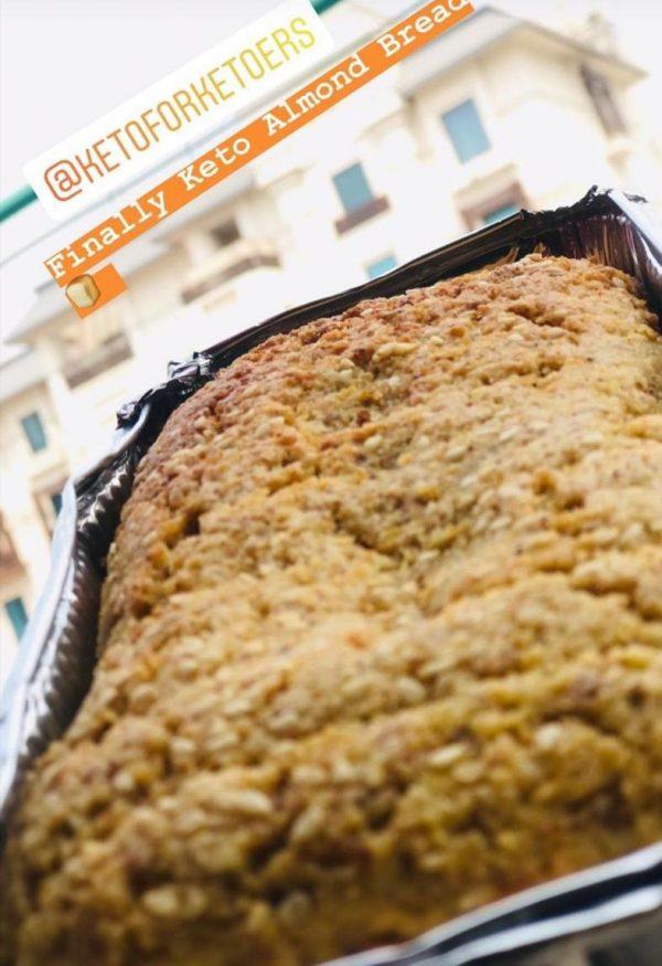 Keto Diet Almond Bread